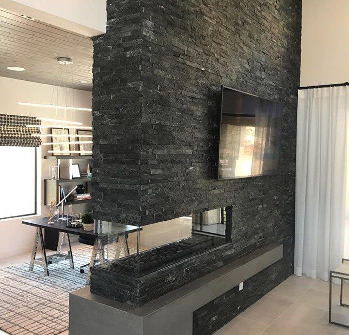 "Peninsula Linear Fireplaces 60"" long"