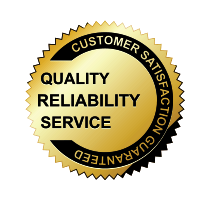 quality reliability service seal