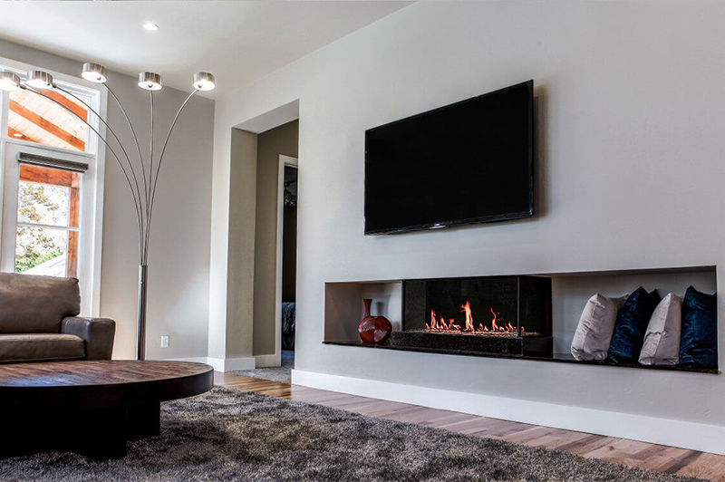 "Flare Double Corner 50"" Fireplace"