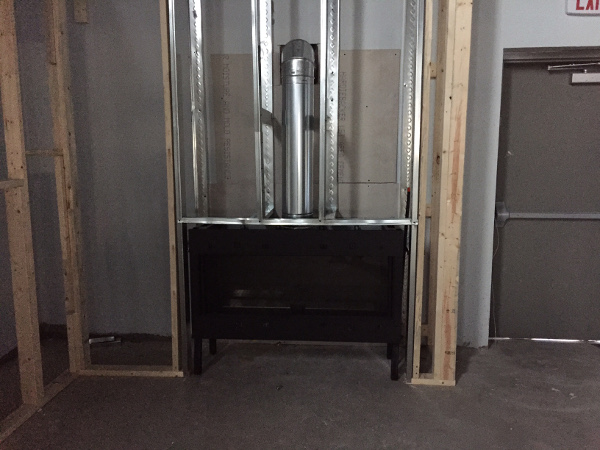 Front linear frame install