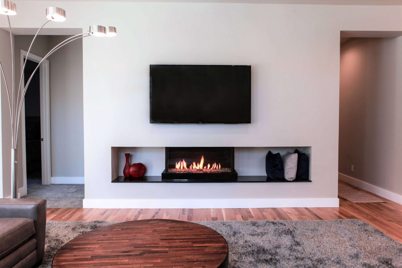 Cool Touch Wall Fireplace Feature | Flare Fireplaces
