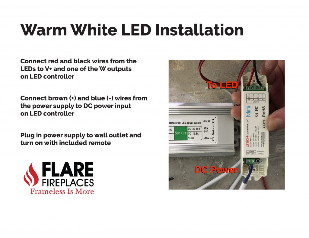 warm white led installation guide