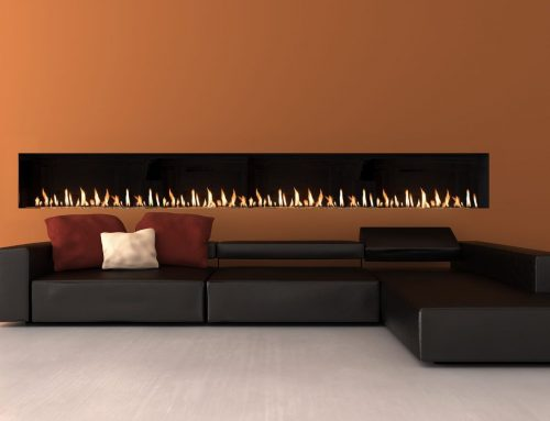 Linear Fireplaces – Modern & Frameless