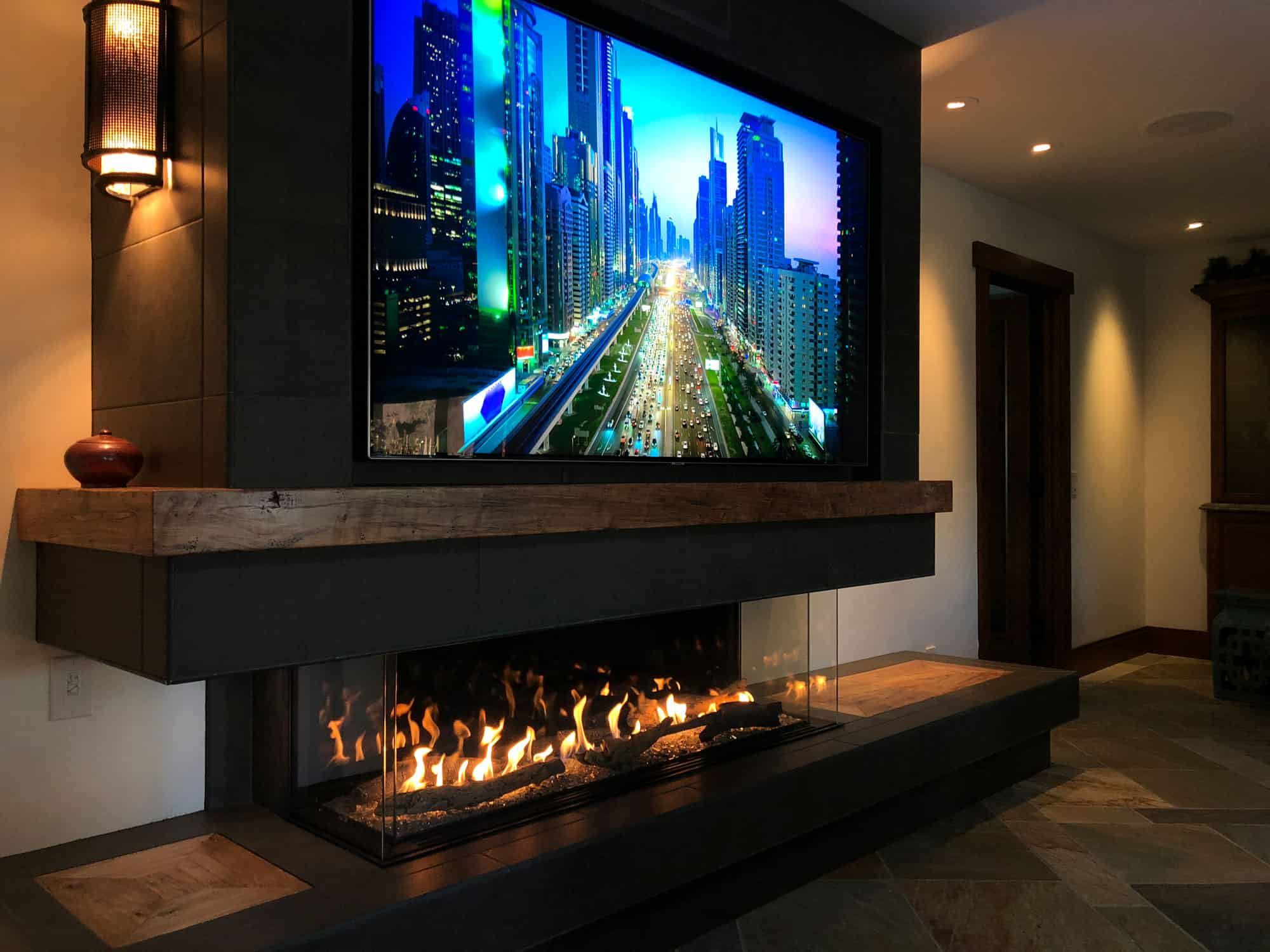 Fireplace Gallery Modern Linear Fireplaces Frameless