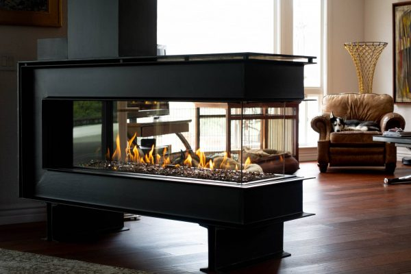 Room Definer -RD-60 linear fireplace