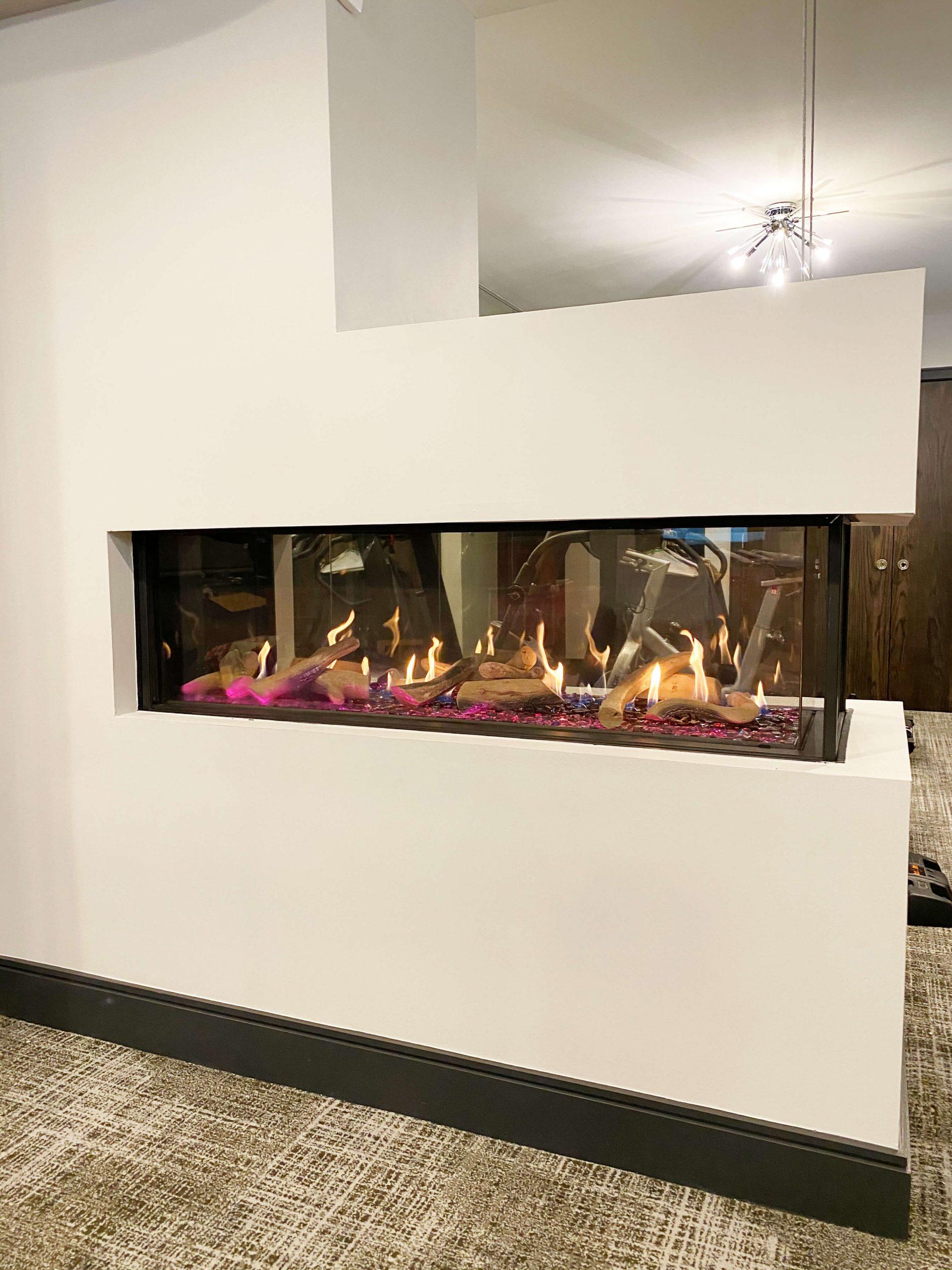 "Flare Room Definer 70"" Fireplace"